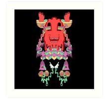 Bloblocks Art Print