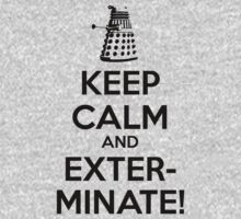 Doctor Who Dalek Keep Calm by nofixedaddress