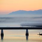 Port Augusta - Misty Morning by Georgie Sharp