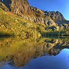Cradle Mountain from Flynns Tarn by Kevin McGennan