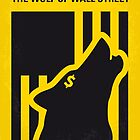 No338 My wolf of wallstreet minimal movie poster by Chungkong