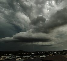 Stormy Skies over the Gold Coast by Ann Pinnock