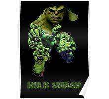 """Hulk """"Hulk Smash"""" Poster"""