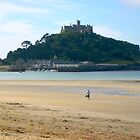 St. Michael's Mount by Claudia Dingle