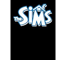 The sims logo Photographic Print