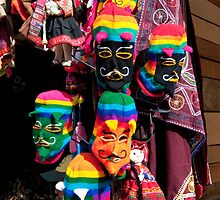 Ollantaytambo Masks by phil decocco