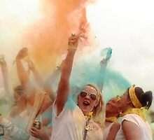 Holi One Colour by David Rothwell
