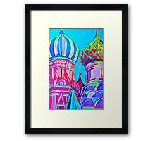 St Basil's Cathedral, Moscow Framed Print