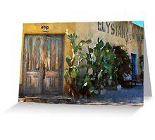 Elysian Grove Market II Greeting Card