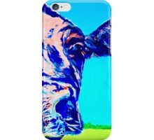 Blue Cheese Dairy Cow iPhone Case/Skin