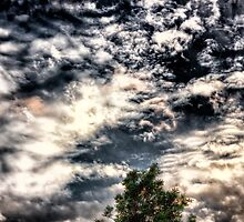 Dramatic sky by KeithReierson