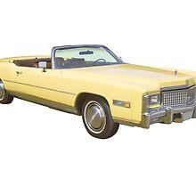 1975 Cadillac Eldorado Convertible by KWJphotoart