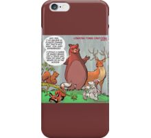 Bear Facts: Greenhouse Gasses  iPhone Case/Skin