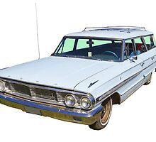1964 Ford Galaxy Country Sedan Stationwagon by KWJphotoart