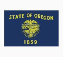 Oregon State Flag Kids Clothes