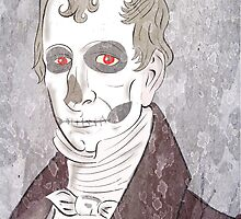 William Henry Harrison: Szkieletor, Necromancer, Corpsemonger by DrunkSatanRobot