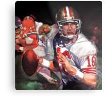 JOE MONTANA SAN FRANCISCO #16 Metal Print