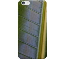 Elephant Ear Plant Abstract iPhone Case/Skin