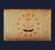 Rhode Island State Flag VINTAGE T-Shirt