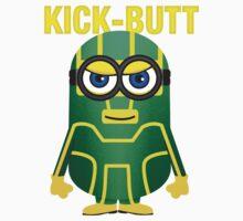 Kick-Butt Minion Kids Clothes
