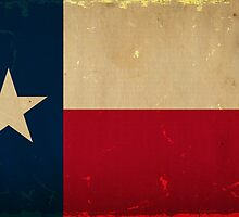 Texas State Flag VINTAGE by Carolina Swagger