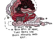 A Big Ball of Meat - Andrew Jackson Jihad by lindseyyo