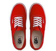 Vans - Red by Sthomas88