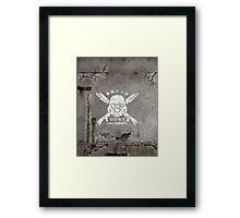 ODST Helljumpers (White Scratched) Framed Print