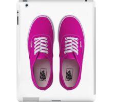 Vans - Pink iPad Case/Skin
