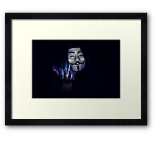 We Are Legion We Are Many Framed Print