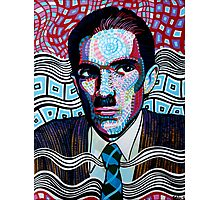 Ron Mael is awesome Photographic Print