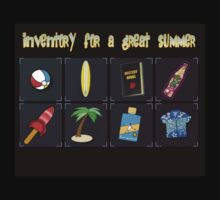 Inventory for a great summer by RockSky-Comics