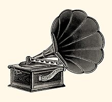 Phonograph by Djidiouf
