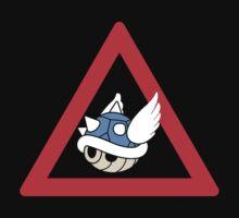 Danger Blue Shell by Kiuuby