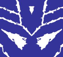 Decetiblot (blue) Sticker