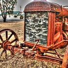 Attractive Tractor .. closer view by Michael Matthews