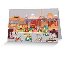 New Delhi, India Greeting Card