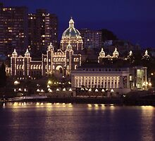 victoria bc evening by designsalive