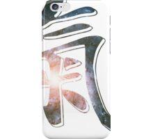 Pinwheel Galaxy | Chi Symbol | Fresh Universe iPhone Case/Skin