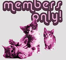 Members only -- Purple kitten club by moonshine and lollipops