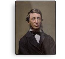 Henry David Thoreau, 1856 Metal Print