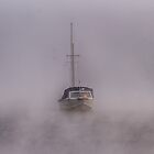 Ghost Ship Canberra Australia  by Kym Bradley