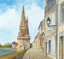 Tour de la Lanterne, La Rochelle, France by Dai Wynn