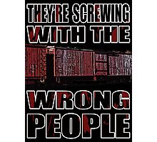 The Wrong People IV Photographic Print