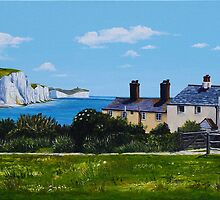 Cuckmere Haven by Paula Oakley