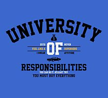 University of Responsibilities by tshirtbaba