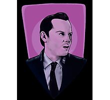 You're on the side of the angels Sherlock Photographic Print