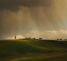Rainy Sunny Toscany by JBlaminsky