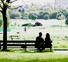 Love in the Park by Vanessa  Hayat