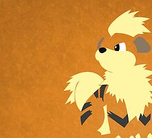 Growlithe by ShortPrint